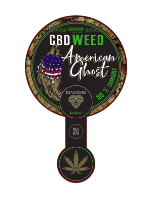 CBD Weed American Ghost