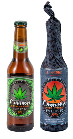 Cannabis Beer Extra Strong Wrap 330 ml
