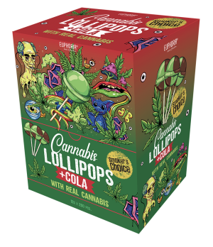 Cannabis Cola Lollipops Big Pack