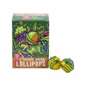 Cannabis Energy Lollipops Box (10 pcs)