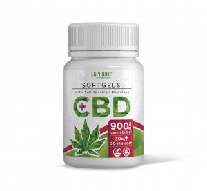 CBD Softgels 900 mg