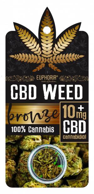 CBD Weed Bronze 10 mg