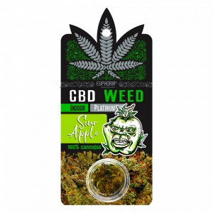 CBD Weed Sour Apple 0,7 g