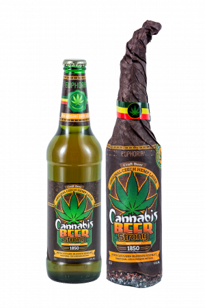Cannabis Beer Strong Wrap 500 ml
