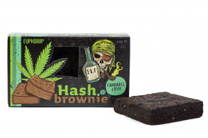 Hash Brownie Cannabis & Rum