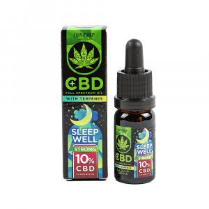 CBD Oil 10% with Terpene: Sleep Well