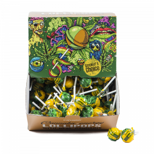 Cannabis Energy Lollipops Big Pack