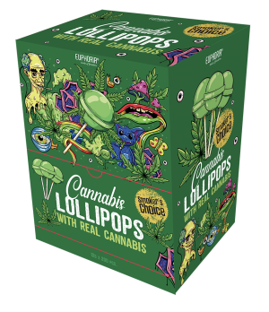 Cannabis Lollipops Economy Big Pack