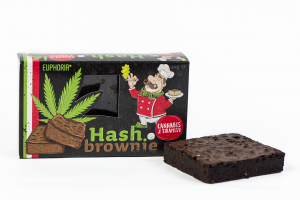 Hash Brownie Cannabis & Tiramisu