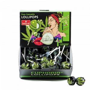Cannabis Lollipops with Gum Big Pack