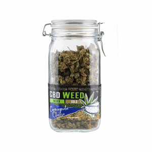 CBD Flowers Glass Jar - Car. Cheese