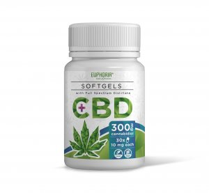 CBD Softgels 300 mg