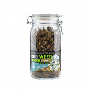 CBD Flowers Glass Jar - Avicenna
