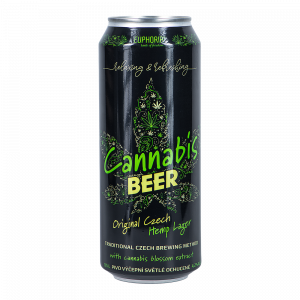 Cannabis Beer Can 500 ml