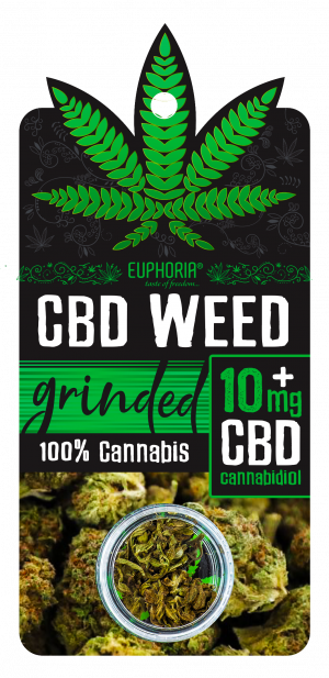 CBD Weed Grinded 10 mg