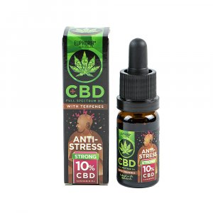 CBD Oil 10% with Terpene: Antistress