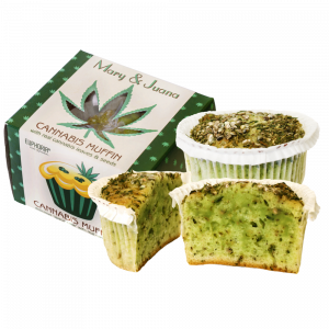 Mary & Juana Cannabis Muffin