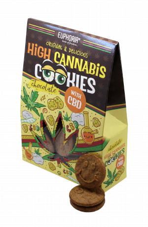 High Cannabis Chocolate Cookies