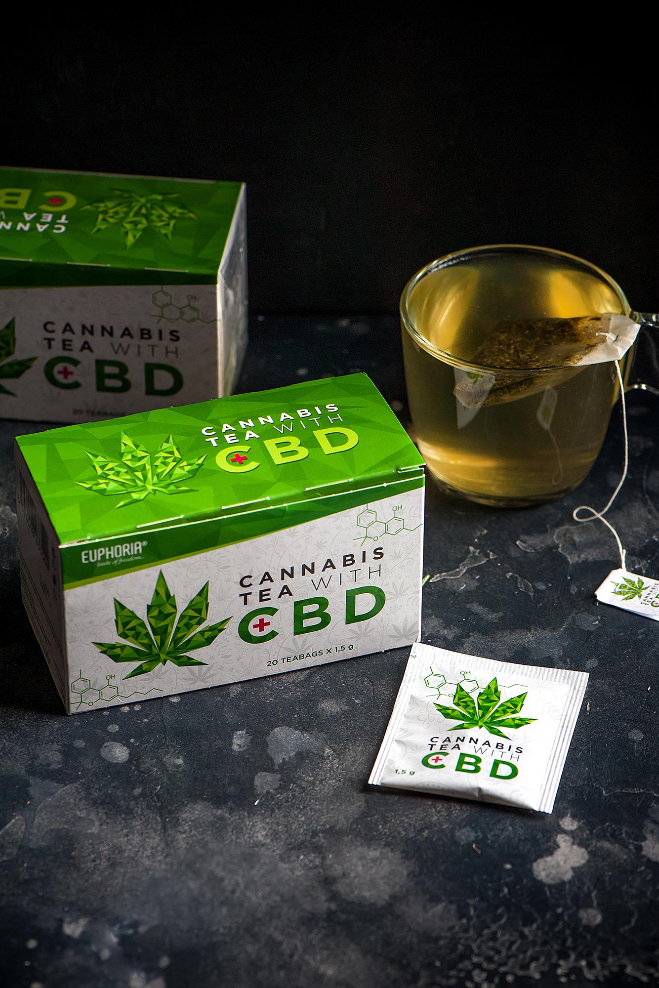 Cannabis Tea with CBD | EUPHORIA - Cannabis Food & Drinks